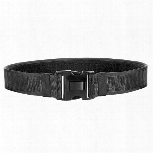 Bianchi 8100 Nylon Web Duty Belt, Black, X-small (24-28) - Black - Unisex - Included