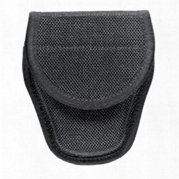 Bianchi Accumold Covered Cuff Case, Nylon, Black, Hook And Lloop, Standard - Black - Unisex - Included