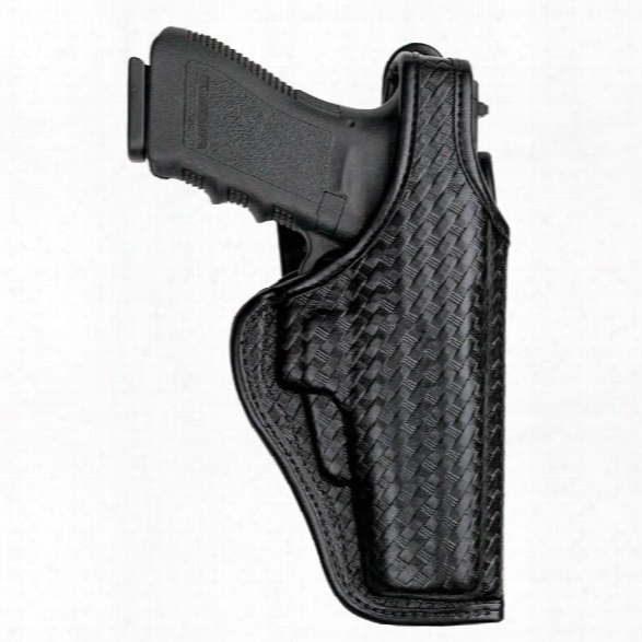 Bianchi Defender Accumold Elite Duty Holster, Black, Plain Black, Right-handed, Glock 19 23 - Black - Unisex - Included