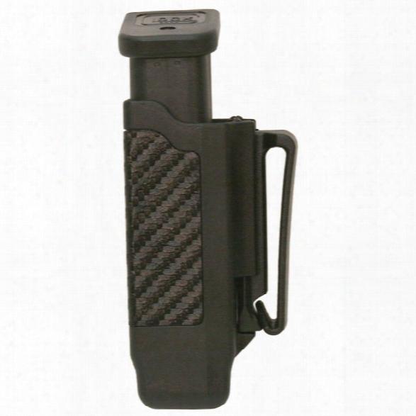 Blackhawk Carbon-fiber Mag Pouch, Single Mag Case, Single Stack, Black - Carbon - Unisex - Included