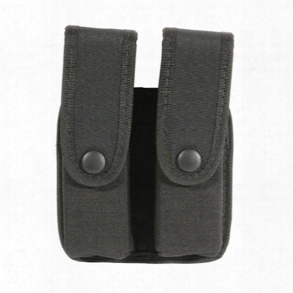 Blackhawk Double Mag Pouch, Cordura Nylon, Fits Glock 21 - Black - Male - Included
