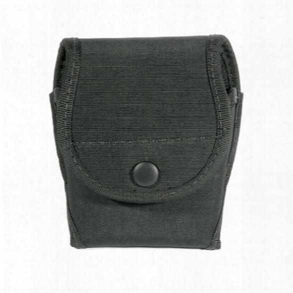 Blackhawk Handcuff Case, Cordura Nylon, Double - Black - Unisex - Included