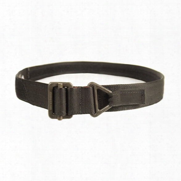 "Blackhawk Instructor's Gun Belt 1.75"", Black, Medium - Black - Male - Included"