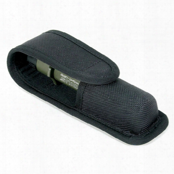 Blackhawk Light Holder, Molded Cordura, Fits 6p/6r - Black - Male - Included