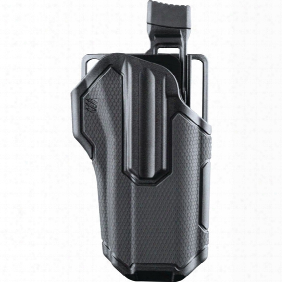 Blackhawk Omnivore Holster, Fits Non-light Bearing Pistols, Lh - Black - Male - Included