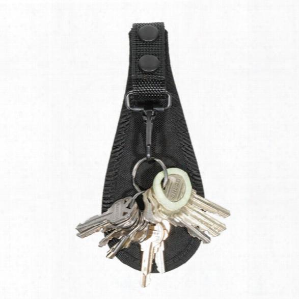 Blackhawk Open Key Holder, Cordura Nylon - Black - Unisex - Included