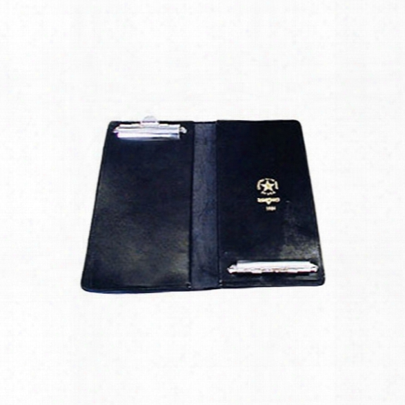 "Boston Leather Double Citation Book With Clip, 5-1/2"" X 11-5/8"" - Male - Included"