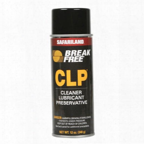 Break-free Gun Cleaning Lubricant 12 Oz Aerosol - Male - Included
