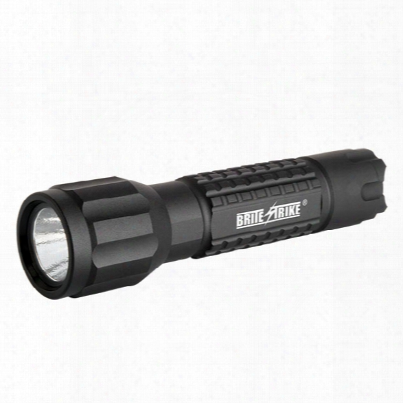 Brite-strike Basic Tactical Flashlight, 2 Cell Lithium (hi/lo/strobe), Black - Black - Male - Included