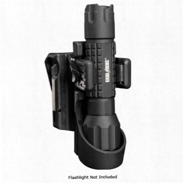 Brite-strike Btl Quick Cam Roto-loc Holster For All Brite-strike® Basic Tactical Lights, Black - Black - Unisex - Included