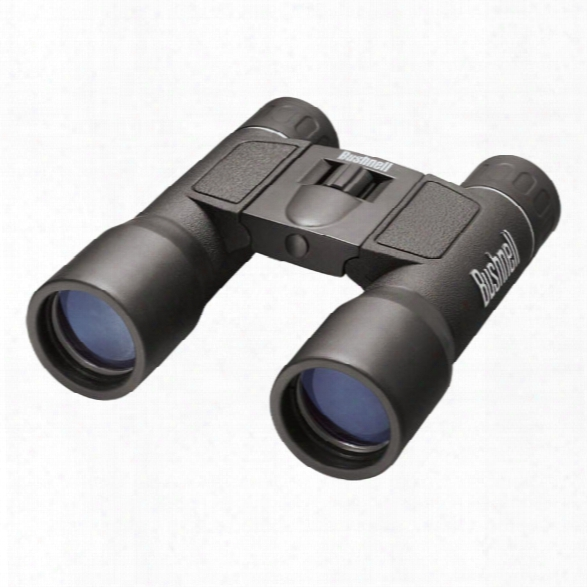 Bushnell Powerview Binoculars, 10 X 32mm, Black Roof Prism - Black - Unisex - Included