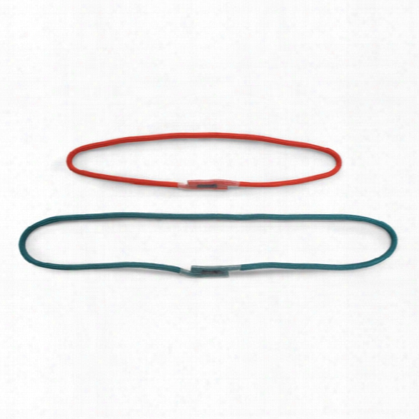 Cmc Rescue Bound Loop Prusik, 8mm, Short, Red - Clear - Unisex - Included