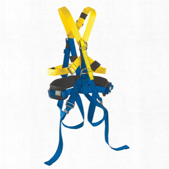 Cmc Rescue Srt Harness, Blue/yellow, Small/medium - Blue - Male - Included