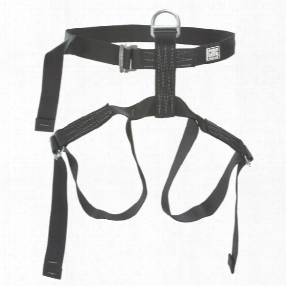 Cmc Rescue Utility Harness, Black - Black - Unisex - Included