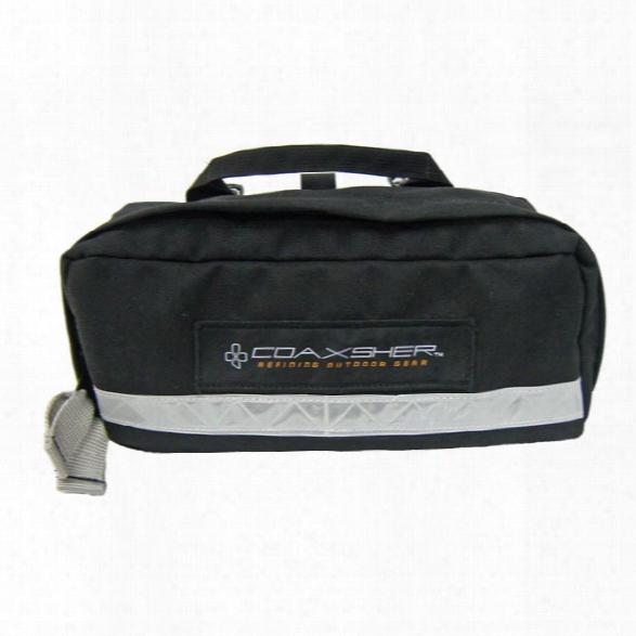 Coaxsher Medical Kit Case, Black - Black - Unisex - Included