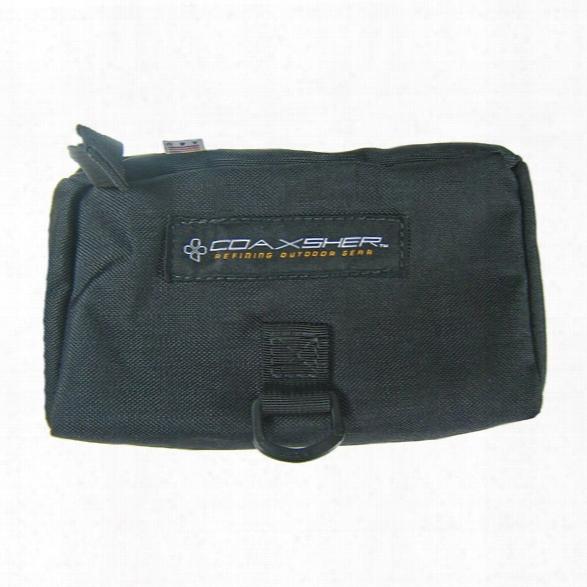 Coaxsher P-gear, Personal Gear Case W/ Alice Clips, Black - Black - Male - Included