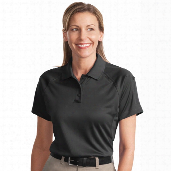 Cornerstone Women's Performance Tactical Polo, Black, 2x - Black - Male - Included