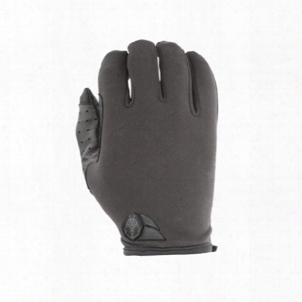 Damascus Atx5 Lightweight Thin Patrol Gloves, W/ Lycra Back And Leather Palms, Black, 2x-large - Black - Unisex - Included