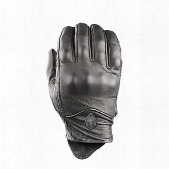 Damascus Atx95 All Leather Patrol Glvoes, W/ Hard Knuckles, Black, 2x-large - Black - Unisex - Included
