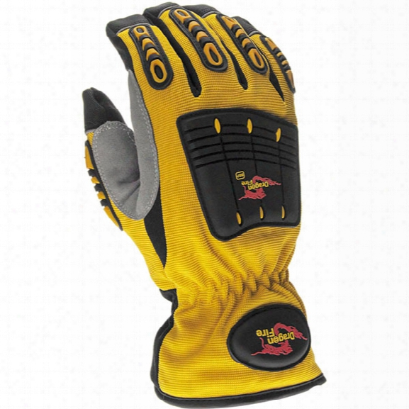 Dragon Fire Bbp Rescue Glove, Large - Unisex - Included
