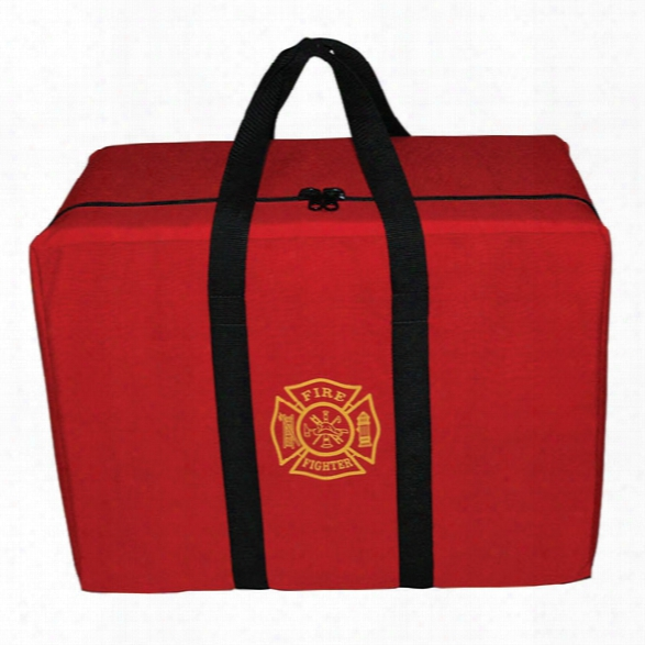 Fieldtex Products, Inc Extra Large Firefighter Gear Bag - Red - Male - Included
