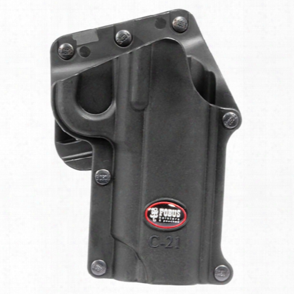 Fobus Compact Paddle Holster, Rh, Fits 1911 Style-alll Models - Male - Included