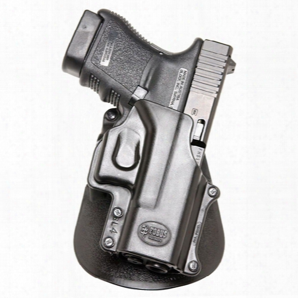 Fobus Standard Paddle Holster, Rh, Fits Bersa Thunder .380/firestorm .380 - Tan - Unisex - Included