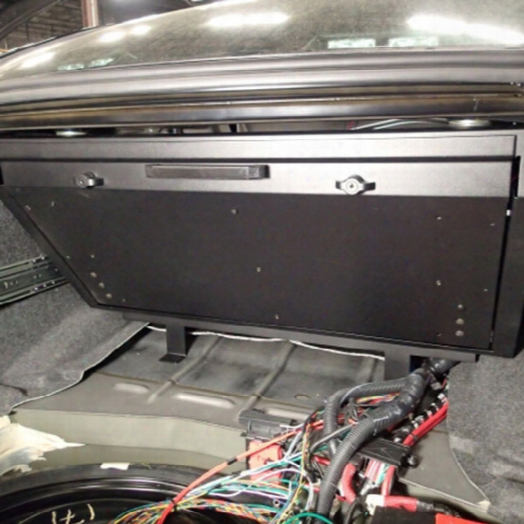 Havis Premium Fold Down Trunk Tray, Dodge Charger 11-current - Male - Excluded