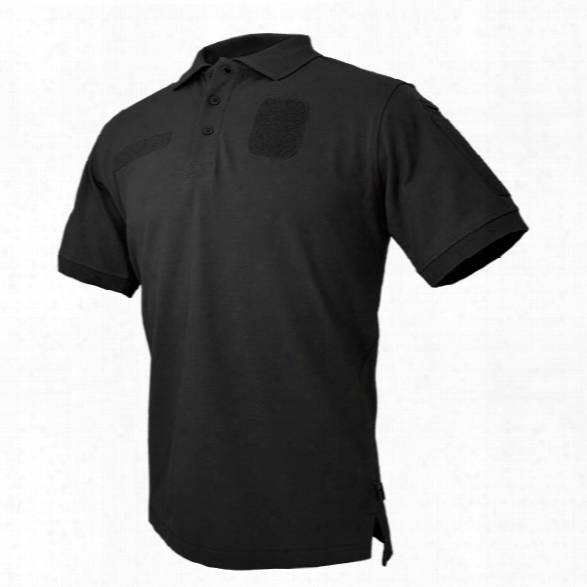 Hazard 4 Loaded Battle Cotton Polo, Black, 2x-large - Black - Male - Include