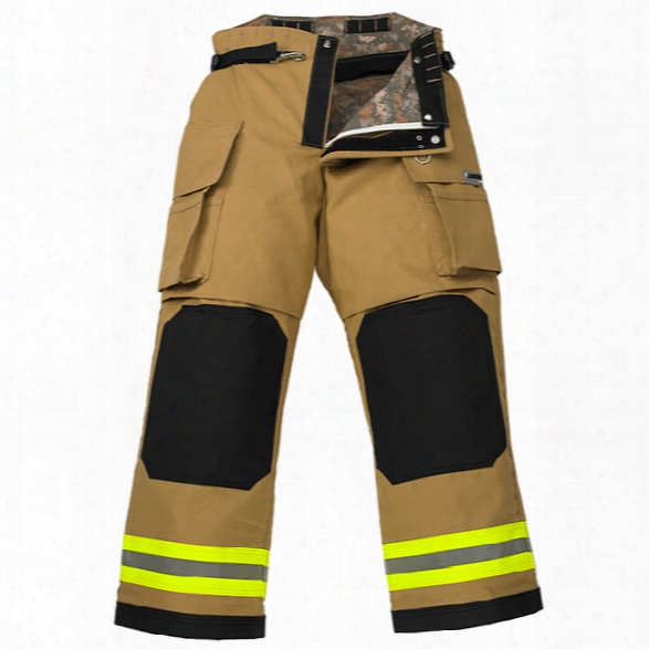 "Lakeland Osx B2 Pant, 3"" Bib Gold Advance, Defender M Sl2 Liner, 32 Waist, 30 Inseam - Gold - Male - Included"