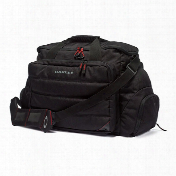 Oakley Breach Range Bag, Black - Black - Male - Included