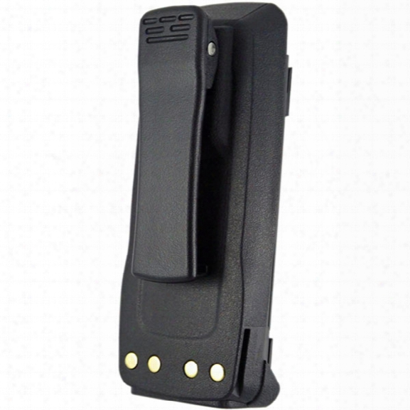 Power Products Battery W/ Clip For Motorola Xpr6100, 6300, 6500 / 7.2v, 2700 Mah, Li-ion - Male - Included