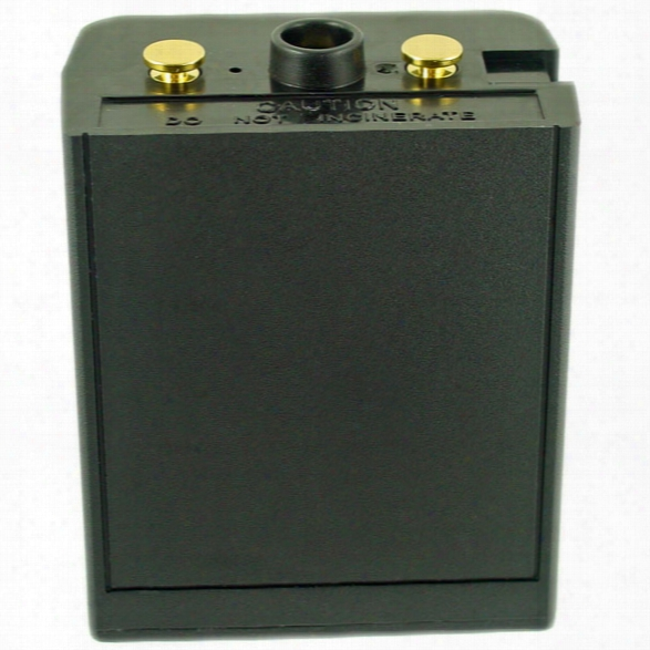 Power Products Relm Bk Dph Radio Battery, 10.0v 1500mah Nicd - Black - Male - Included
