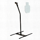 Custom Metal Products Static Stand With IPSC Metric B-C Zone - Tan - Unisex - Excluded