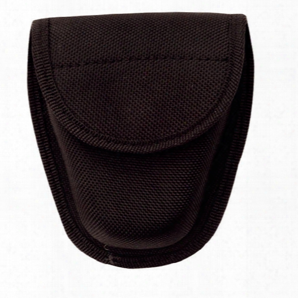 Tru-spec Double Nylon Handcuff Case, Black - Black - Unisex - Included