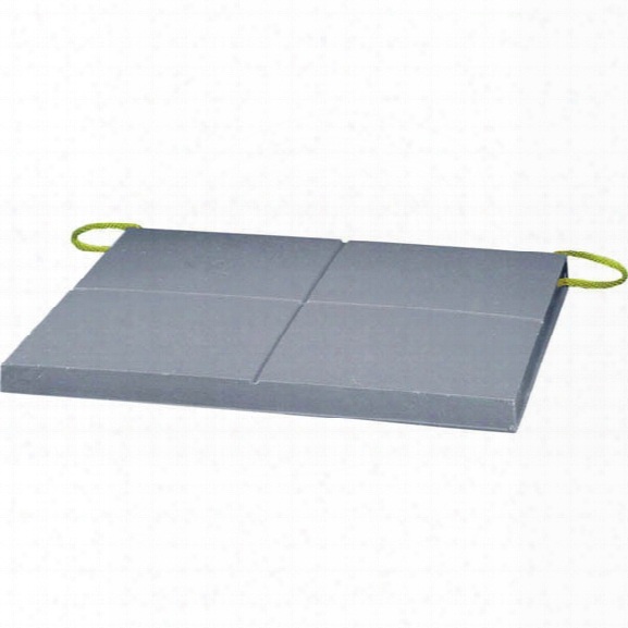"Turtle Plastics Airbag Pad, 1-1/2"" X 24"" X 24"", Gray W/ Rope Lanyards - Gray - Unisex - Excluded"