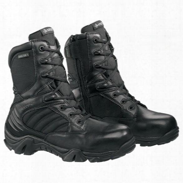 Bates Gx-8 Goreetex Sidezip Comp Toe Boot, Black, 10.5ew - Metallic - Male - Included