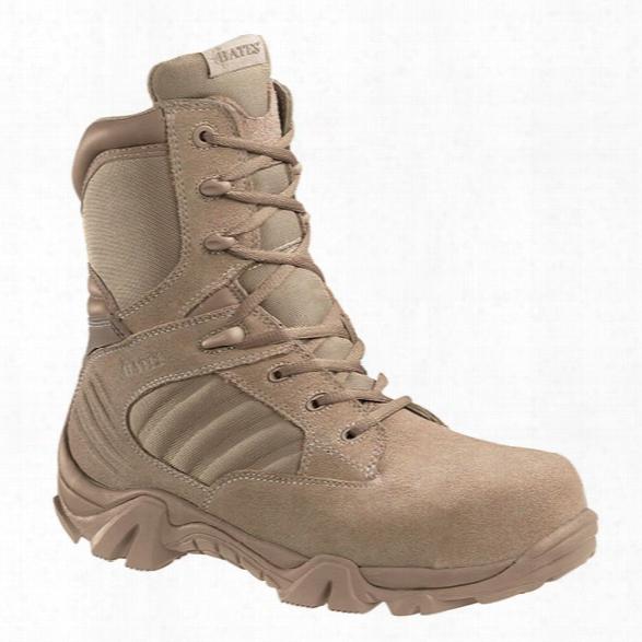 Bates Gx-8 Sidezip Comp Toe Boot, Desert, 10.5ew - Metallic - Male - Included