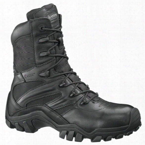 Bates Womens Delta-8 Ics Technology Sidezip Boot, Black,10m - Black - Male - Included