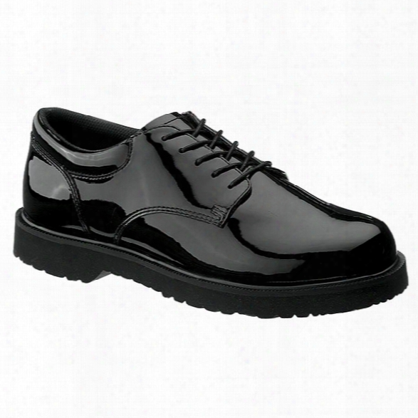 Bates Womens High Gloss Duty Oxford, Black, 10m - Black - Female - Included