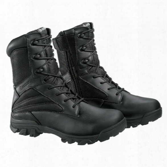 "Bates Zr-6 6"" Tactical Boot, Black, 10.5ew - Black - Male - Included"