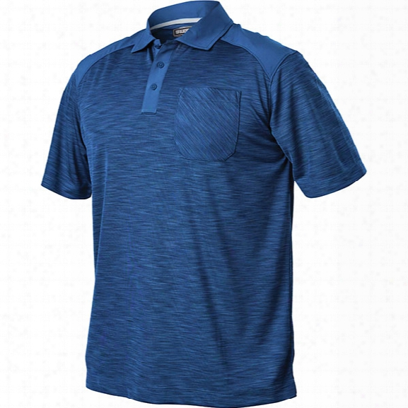 Blackhawk Taclife Performance Polo, Admiral Blue, 2x-large - Blue - Male - Included