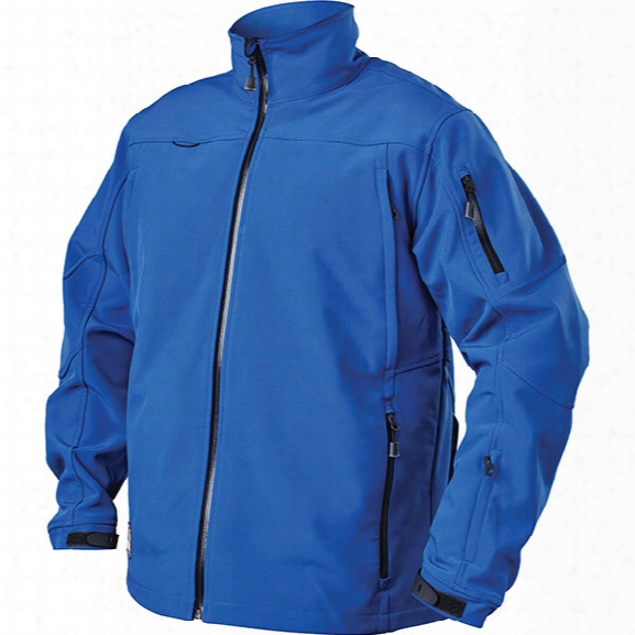 Blackhawk Taclife Softshell Jacket, Admiral Blue, 2x-large - Blue - Male - Included