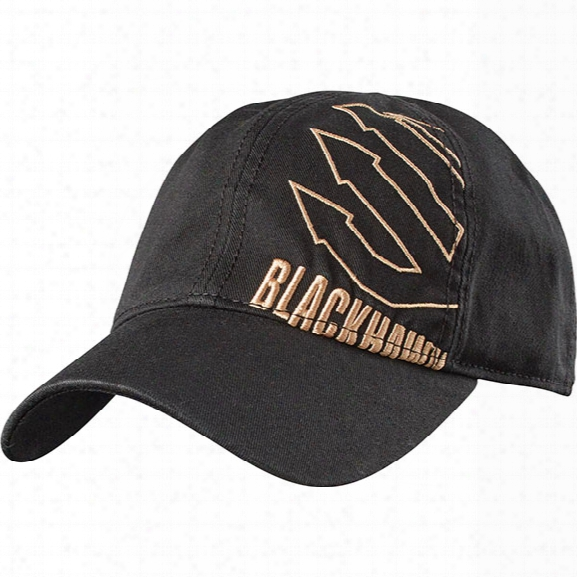 Blackhawk Tactical Logo Cap, Black, Os - Black - Male - Included
