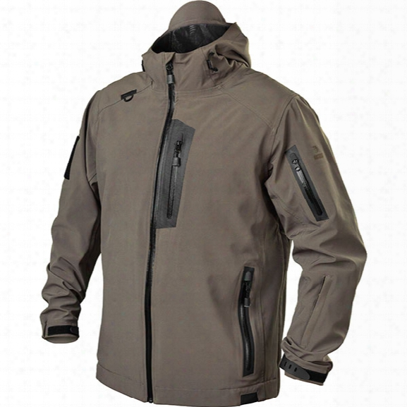 Blackhawk Tactical Softshell Jacket, Fatigue, 2x-large - Black - Male - Included