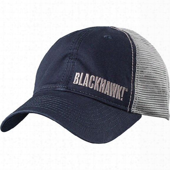Blackhawk Tactical Trucker Cap, Navy, Os - Blue - Male - Included