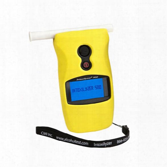 Cmi Intoxilyzer 500 W/case - Yellow - Male - Included