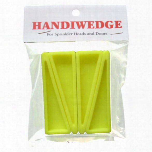 Cy Plastics 3 X 1 Handi-wedge, 4-pack - Yellow - Unisex - Included