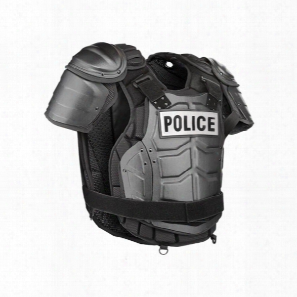Damascus Dfx2 Imperial Elite Hard Shell Upper Body Protection System, Black, Medium/large - Black - Male - Included