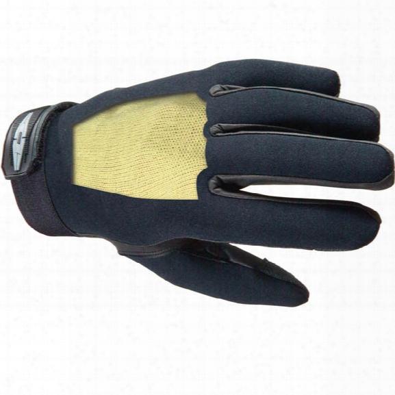 Damascus Dnk1 Enforcer K Neoprene Gloves, W/ Kevlar Liners, Black, 2x-large - Black - Male - Included
